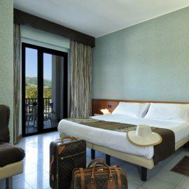 Camere Confort Mare Hotel a Savona | Liguria viaggiatore goumet, spiaggia privata, piscina con acqua di mare