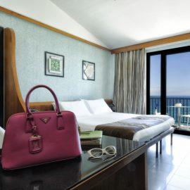 Camere President Mare Hotel a Savona | Liguria viaggiatore goumet, spiaggia privata, piscina con acqua di mare