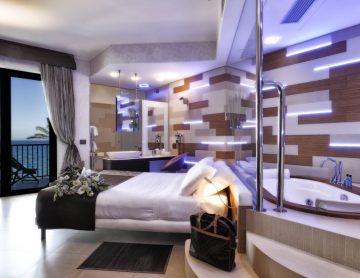 Camere Superior Mare Hotel a Savona | Liguria viaggiatore goumet, spiaggia privata, piscina con acqua di mare